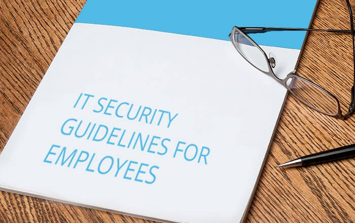 IT security guidelines for employees